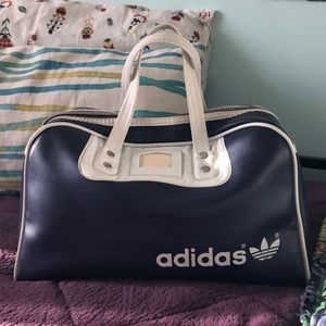 Vintage adidas sports bag tote
